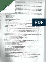 TEST EXAMEN PROFESOR DE FORMACIÓN VIAL - PRIMERA EVALUACIÓN - CUESTIONARIO B (25.04.2013)