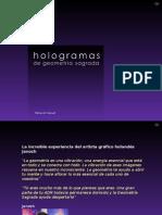 Hologramas de Geometría Sagrada