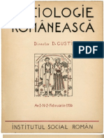Sociologie Românească, nr. 2, 1936