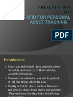 RFID for Personal Asset Tracking