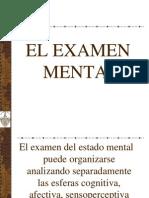 2. El Examen Mental
