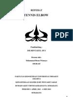 Cover Referat Tennis Elbow