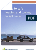 Guide Safe Loading Towing