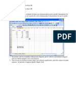 Manual para regresión lineal en Excel