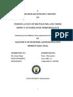 H.R Police of C.L. GUPTA Final Report.doc2 (1)
