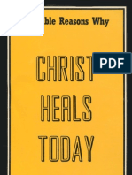 30 Bible Reasons Why Christ Heals Today - Gordon Lindsay