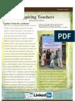 Inspiring Teachers Newsletter - May 2013