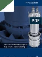 Grundfos Axial Flow Pumps Brochure