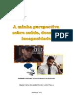 saúde, doença e incapacidade - Marisa Caeiro
