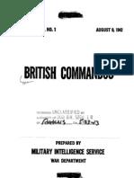 British Commandos Special Series No 1
