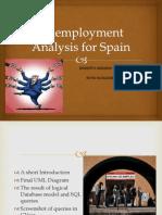 Unemployment Spain Database