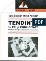 Delia Balaban Tendinte in PR Si Publicitate