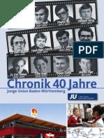 Chronik 40 Jahre Junge Union Baden-Württemberg