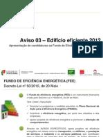 Apresentação Aviso_03_EE_2012_v1