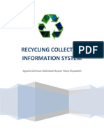 RECYCLING COLLECTION INFORMATION SYSTEM