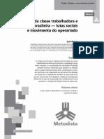 A gênese da classe trabalhadora e operária brasileira_1a parte_Luci Praun