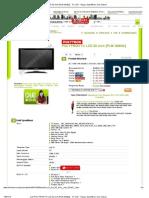 Jual POLYTRON TV LCD 32 Inch [PLM 32M22] - TV LCD - Harga, Spesifikasi, Dan Ulasan