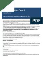 Numeracy Practice Paper 2