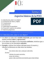 FP2_GISIT - Tema 2 - Aspectos Basicos de La POO