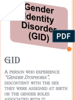 Gender Identity Disorder (GID)