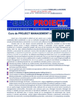 Curs Project Management CORPORATE