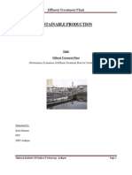 Effluent treatment plantDOC
