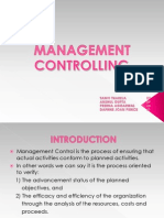 Controlling, management principle and organisational behavior, mpob