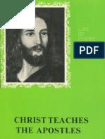 Christ Teaches the Apostles - Gordon Lindsay