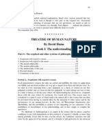 Hume, A Treatise of Human Nature, Book I, Part IV