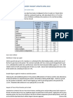 Grocery Sector Insights April 2013