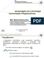 Métodos de amostragem em Limnologia