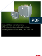 ABB Distribution Transformer Catalogue