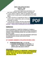 AMOR A PALAVRA DE DEUS.docx