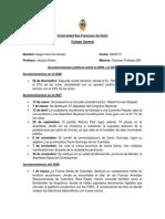 Acontecimientos Politicos en El Ecuador Desde El 2006 Al 2010