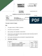 Fac2601 Exam