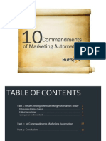 Marketing Automation Ten Commandments Final