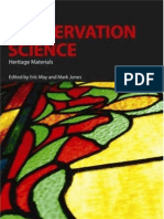 Conservation Science - Heritage Materials