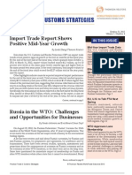 Russia in the WTO Challenges and Opportunities for Businesses
