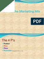The Marketing Mix Presentation