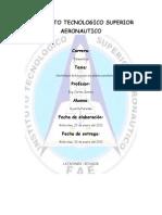 informe plantamanufacturera
