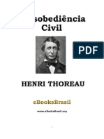 Henri Thoreau-Desobediência civil