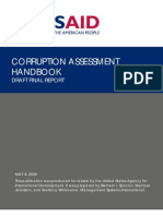 Corruption assesment  handbook
