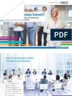 BCT 6.x - Business ConneCT Brochure - English