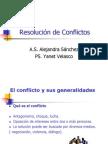 Resolución de Conflictos yanet