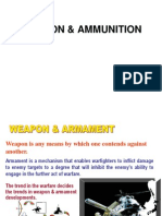 Introduction to Weapon & Ammunition