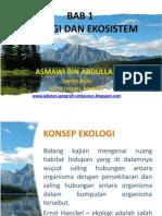 Bab 1 Ekologi Dan Ekosistem