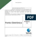 Ponto Eletronico P11