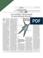Las Ventajas y Desventajas de La Moneda Flotante