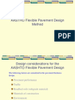 9. AASHTO Flexible Pavement Design Method