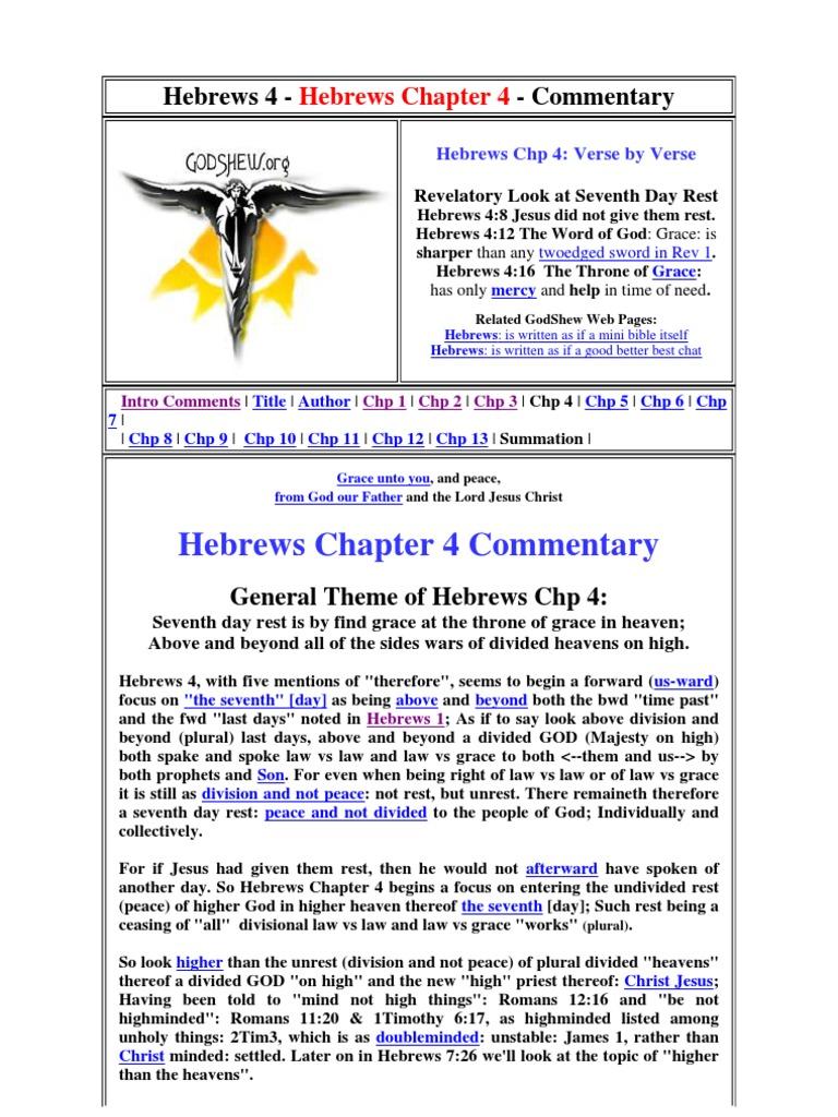 CH4 Www godshew org | Grace In Christianity | Eternal Life